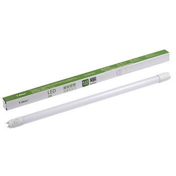 T.SHINE 9W LED 2呎納米玻纖燈管白