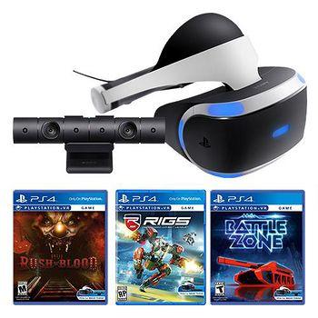 PS4 (現貨)VR+直到黎明+RIGS+BATTLEZONE-台灣公司貨 攝影機同捆
