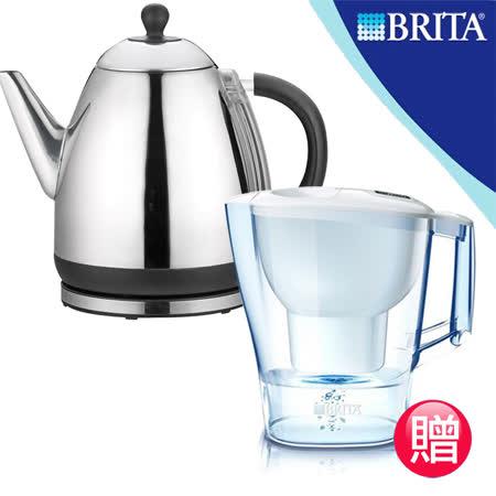 《買就送濾水壼》【維康】白鐵電茶壺1.5L WK-1550_BR35