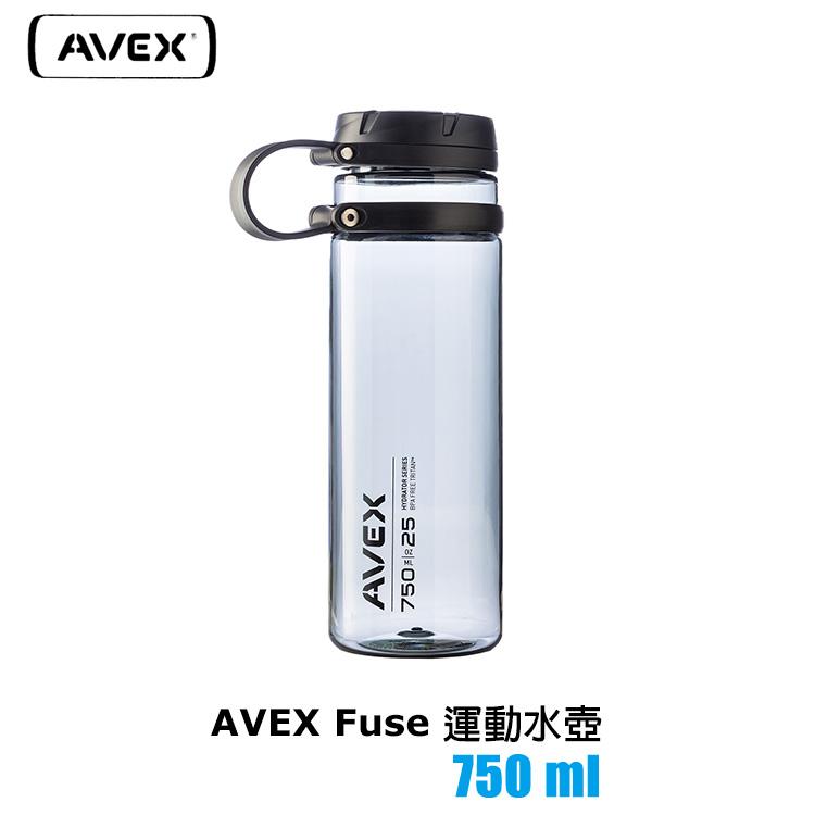 AVEX Fuse 水壺 750ml 城市綠洲  100%不含BPA無毒、廣口水瓶
