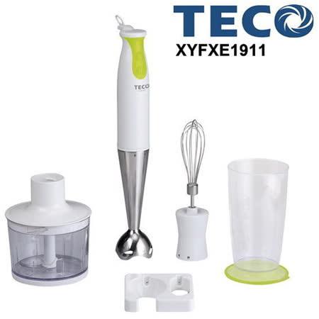 TECO東元魔力蔬果調理棒(4件組) XYFXE1911
