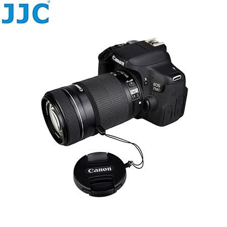 JJC真皮蒙皮貼49mm鏡頭蓋防丟繩 CS-C49