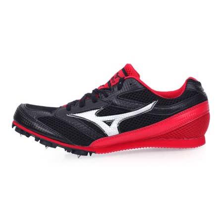 (男) MIZUNO TMC SPLIT 3 田徑釘鞋-中距離 長距離 美津濃 黑紅