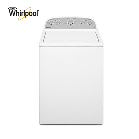 【Whirlpool惠而浦】13KG美式短棒洗衣機 WTW4915EW 送安裝+超商禮券(鑑賞期過後寄出)