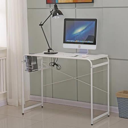 AT HOME-米蘭3.3尺白色書桌