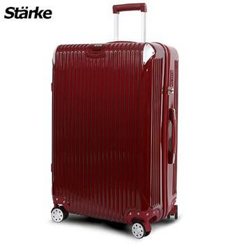 Starke 德國設計 28吋PC+ABS鏡面防爆拉鍊硬殼行李箱 B系列B200- 酒紅色 (008004-04)