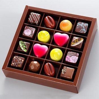 亞尼克?子工房 伴手禮-法式巧克力16入禮盒 法式巧克力16入禮盒