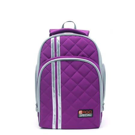 Tiger Family 彩虹超輕量護脊書包-紫色 (3~6年級)