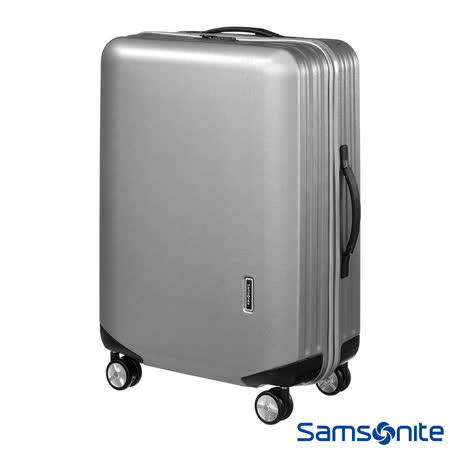 Samsonite新秀麗25吋 Inova T型拉桿TSA輕量硬殼行李箱(銀)