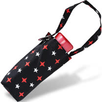 【rainstory】紅白星光抗UV迷你口袋傘
