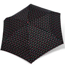【rainstory】紅白星光抗UV輕細口紅傘