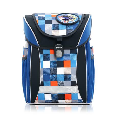 ★新品上市★Tiger Family學院風超輕量護脊書包-皇室藍(3~6年級)