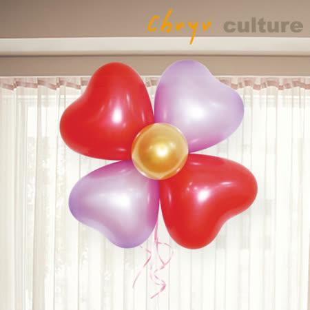 珠友 BI-03103 台灣製-5+12吋氣球組合包-愛心花/氣球花/愛心氣球/造型氣球/婚禮佈置 生日 派對 場景裝飾