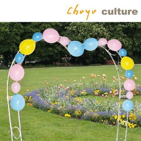 珠友 BI-03107 台灣製-6+12吋連結氣球組合包/圓形氣球/創意造型氣球/婚禮佈置 生日 派對 場景裝飾/拱門氣球