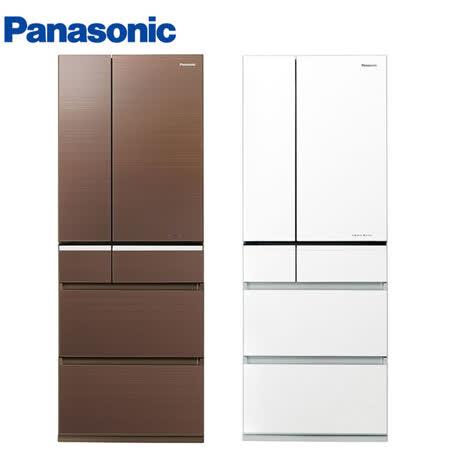 Panasonic國際551L日本製六門ECONAVI變頻冰箱NR-F552VG