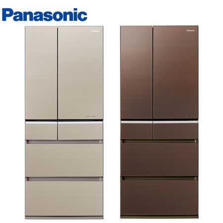 Panasonic國際601L日本製六門ECONAVI變頻冰箱NR-F602VG