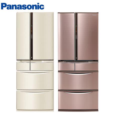 Panasonic國際601L日本製六門ECONAVI變頻冰箱NR-F602VT