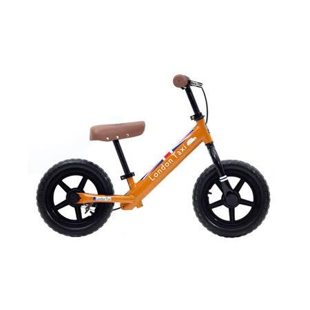 (預購)London Taxi KickBike幼兒滑步平衡車-橘
