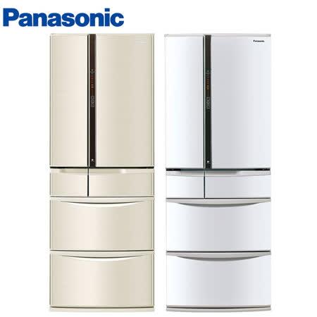 Panasonic國際501L日本製六門ECONAVI變頻冰箱NR-F502VT