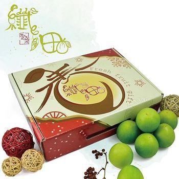 纖沺大山元農場 燕巢3L級雪蜜棗手提平面禮盒 附產銷履歷 三盒組 (15粒裝/盒)