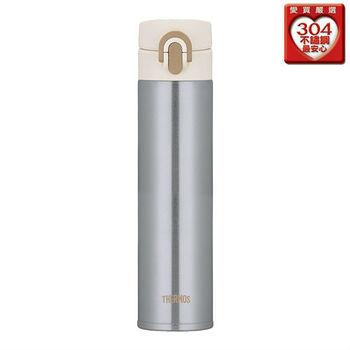 THERMOS膳魔師 超輕量不鏽鋼保溫瓶(400ml)銀色JNI-400-SL