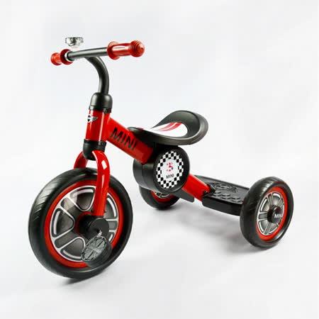 英國Mini Cooper 兒童三輪車10吋-辣椒紅