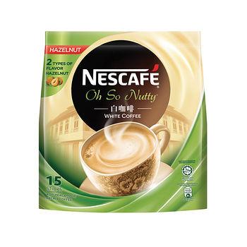 雀巢白咖啡榛果36g*15