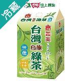義美無糖台灣烏龍綠茶400ML/瓶