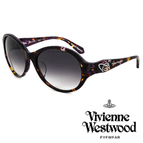Vivienne Westwood 英國薇薇安魏斯伍德英倫龐克太陽眼鏡^(艷紫^) VW7