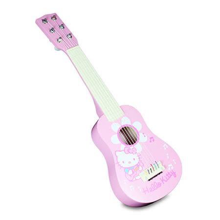 【Hello Kitty 凱蒂貓】KT木製吉他 KT25167