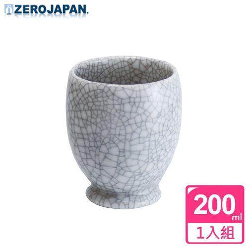 ~ZERO JAPAN~冰裂之星杯^(白瓷^)200cc
