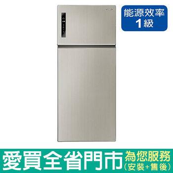 Panasonic國際579L雙門變頻冰箱NR-B588TV-H含配送到府+標準安裝
