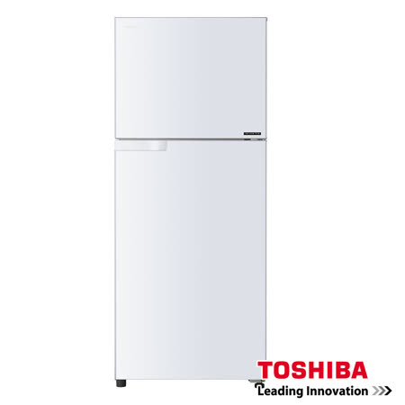 TOSHIBA 東芝 330公升超靜音一級變頻電冰箱 白GR-T370TBZ(W)
