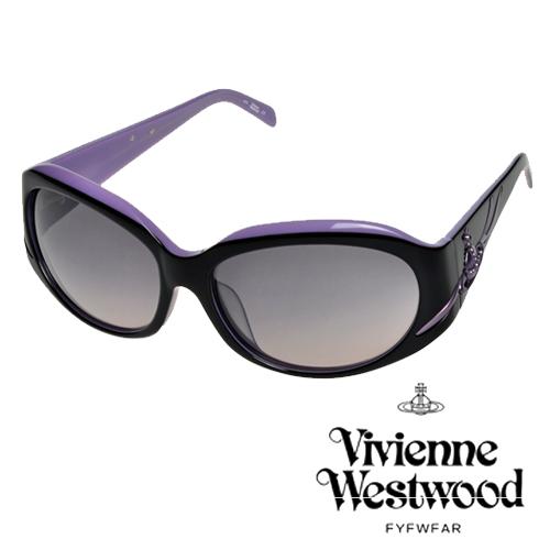 Vivienne Westwood 英國薇薇安魏斯伍德英倫龐克太陽眼鏡^(咖啡^) VW6