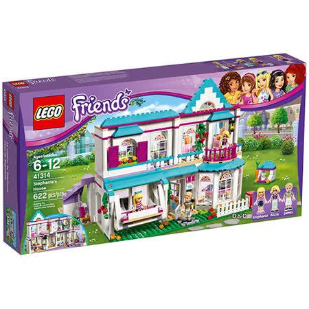 LEGO《 LT41314 》Friends 姊妹淘系列 - 斯蒂芬妮的家