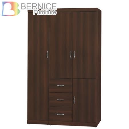 Bernice-傑米5.2尺四門三抽衣櫃