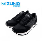 Mizuno 1906 限量 男女休閒款慢跑鞋 (黑X黑) D1GA170609