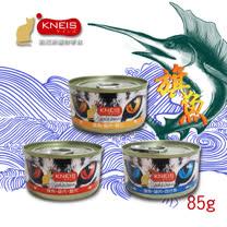 KNEIS 凱尼斯貓罐白肉系列<br>  (吻仔魚/ 蟹肉/ 蝦仁)85gX24罐