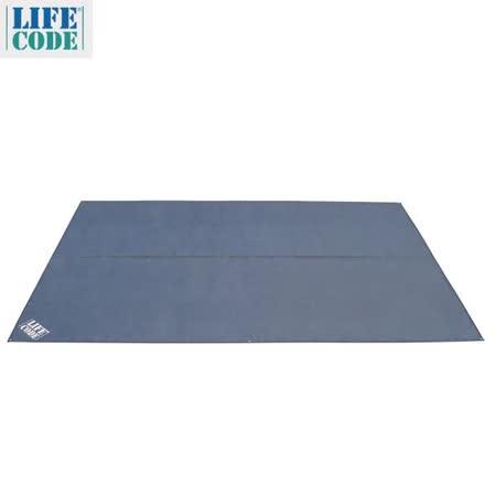 【LIFECODE】帳篷專用地布 460 x 300 cm(附6根地釘)
