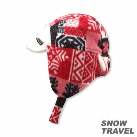 SNOWTRAVEL PORELLE防水透氣雙面帽(白)