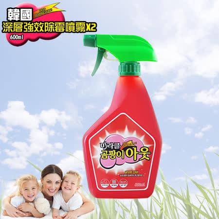 韓國深層強效除霉噴霧瓶600ml(2入)
