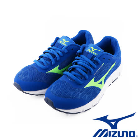 Mizuno 美津濃 SYNCHRO JR 大童鞋 (藍X綠) K1GC173241