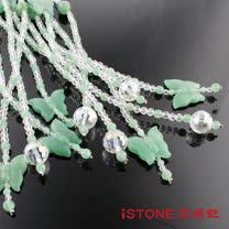 石頭記 福氣迎來天然東菱玉水晶珠簾(10入組)