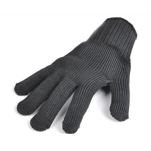 (園藝除草、搬運工作護手小幫手) 加强版多用途防護防割耐磨鋼絲手套 5雙入 SK
