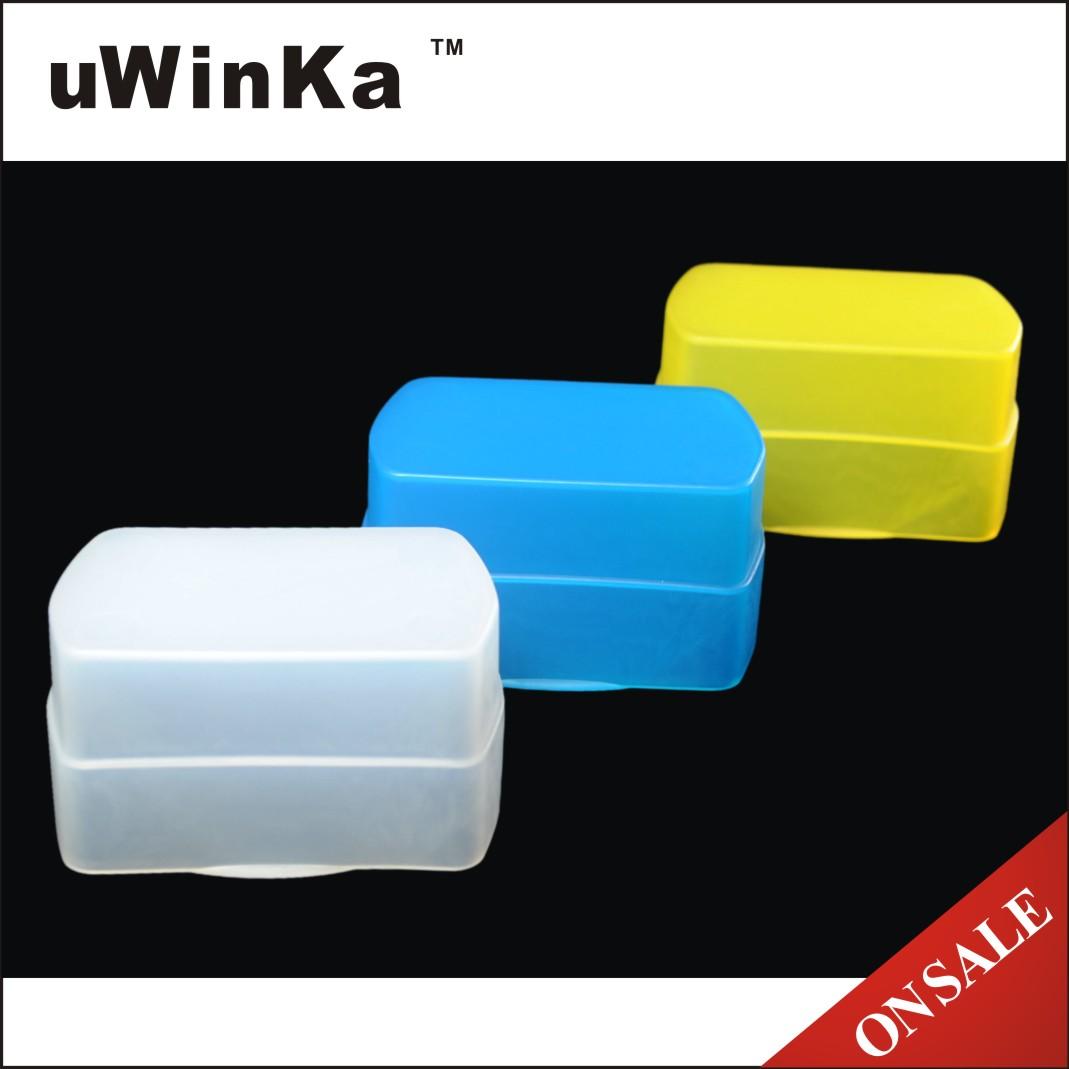 uWinka副廠Canon佳能430EX肥皂盒430EXII肥皂(三色:白色/黃色/藍色)FC-28B WBY