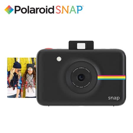 Polaroid 寶麗萊 SNAP 數位拍立得(黑色-公司貨)
