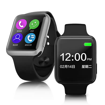 【長江】V9 Watch超薄金屬機身觸控智能手錶(公司貨)