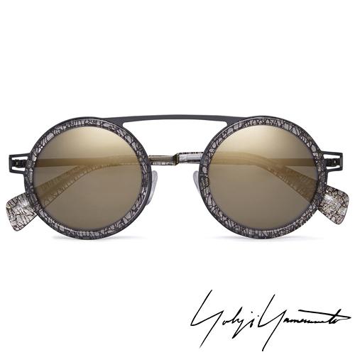 Yohji Yamamoto 山本耀司 時尚前衛太陽眼鏡-金-YY5015-079