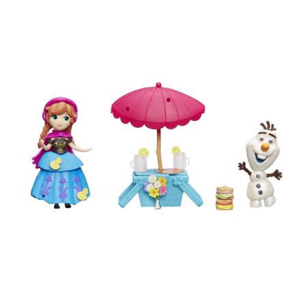 《Disney 迪士尼》冰雪奇緣迷你安娜公主及情境組