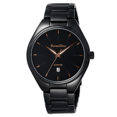 Roven Dino羅梵迪諾 輕鬆伴點日期腕錶-RD719B-358BG